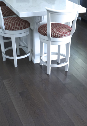 Custom White Oak Danville Gray