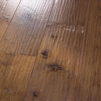 Amish HandScraped HomerWood - Black walnut hardwood flooring