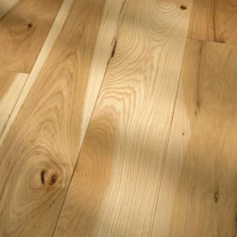 premium traditional character Hickory Natural